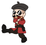 Dancing Soldier animation - Brigadier Ketchup by FlightBotJetwing
