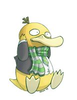 Psyduck slytherin by Spekle