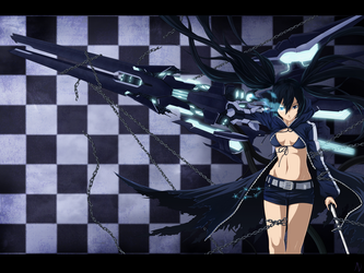 Black Rock Shooter by Dark-nyghtmare