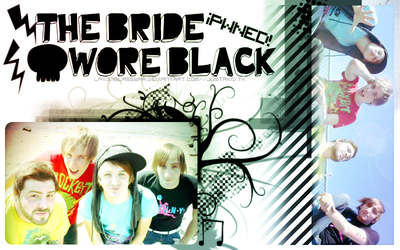 The Bride Wore Black Banner by lpx37glasswar