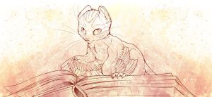 Bookmouse by Mewitti