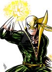Iron Fist! Color by nic011