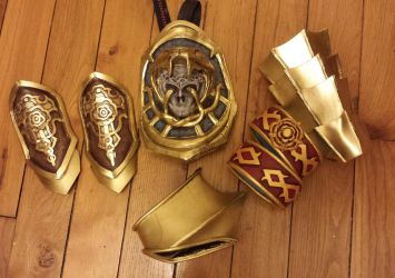 Ivy's pieces of armour - Soulcalibur V by NatIvy