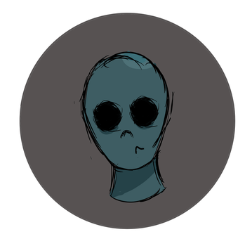 Alien Icon by 123-diamond-blue