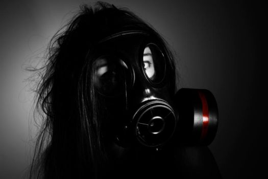 Gas Mask 4 by JDSPhotography
