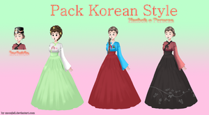Amor Doce - Pack Korean Style by moonjell