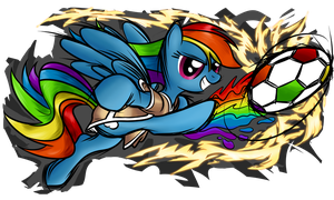 Rainbow Kick by nuclearsuplexattack