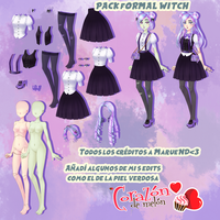 CDM PACK  Formal Witch by loligirlmikufan