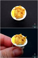 1:12 Scale Fish and Chips Ring by Bon-AppetEats