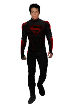 Superboy - Transparent! by Camo-Flauge