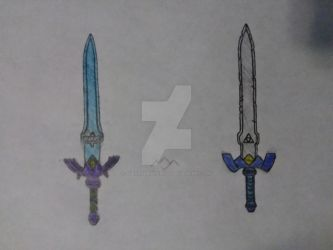 Master Sword Concepts (Sonic X and after Zelda II) by AlexandNintendo2