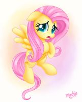 Fluttershy being... Fluttershy. by iMoshie