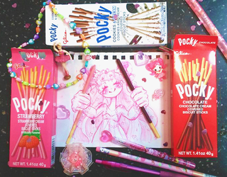 Happy Pocky/Pepero Day! by NasikaSakura