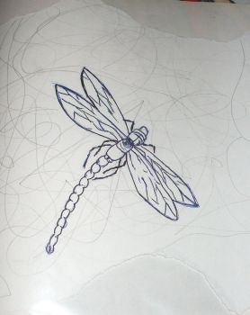 Dragon Fly Amory Wars attempt by faint-of-hearts