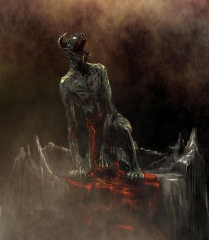 Eviscerated Ghoul by thatDMan