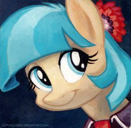Square Series - Coco Pommel by SpainFischer