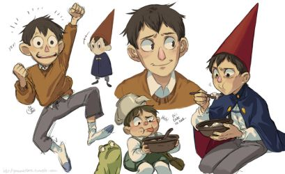 OTGW- Sketches by saspy