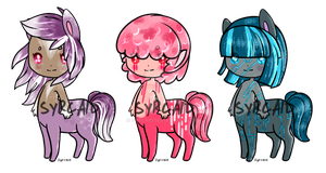 Tiny Taurs Set 1 [ ALL SOLD ] by syrcaid
