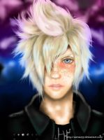 Prompto Argentum Final Fantasy XV by awmaryy