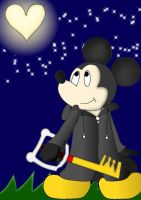 king mickey- kingdom hearts II by icekunny4