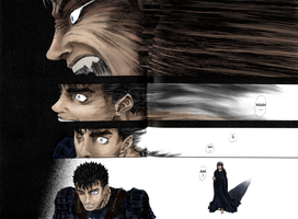 Berserk - Gatts and Casca by SkareFace