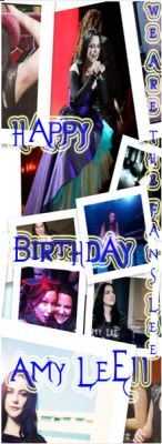 profile photo we are the fans lee birthday amy lee by isaalacrymosaa