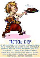 Day 36 - Tactical Chef by flatw00ds