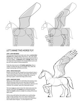 How to draw PEGASUS 3 by PatrickThornton