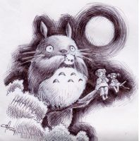 .:Totoro:. by mangoes