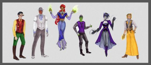 Titans, assemble! by theceruleancreep