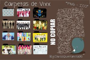 Carpetas de Vixx by ChrissQuintanilla