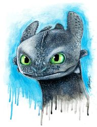 Toothless by LukeFielding