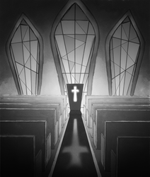 Inside the Church (finished) by StygianRecluse