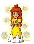 Classic Daisy remake by ninpeachlover