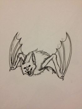 Inktober Day 9 - Screech by PsionicCastor