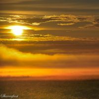 Fire on the Fog II by Brian-B-Photography