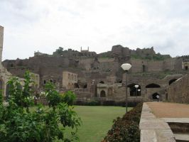 Golkonda Fort 1 by shadowcat45