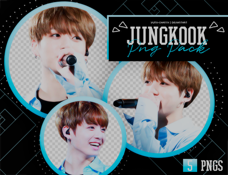 PNG PACK: JungKook (BTS) #8 by Hallyumi