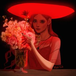 Scarlet Witch by MeTaa