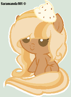 Pumpkin Pie Pony Adoptable CLOSED by saramanda101