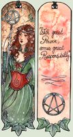 COM ~ BookMark Lenarya by Songes-et-crayons