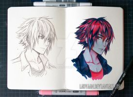 3 Marker Challenge - Noctis by Laovaan