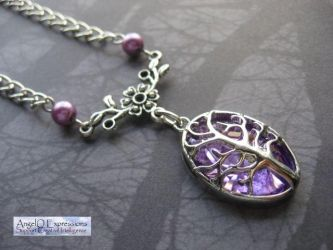 In the Forest of Mystics Necklace by SpellsNSpooks