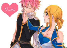 Render #50 - NaLu (Fairy Tail) by Nuuii