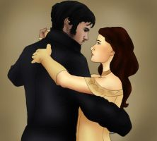Hook x Belle: Guts for Glory Gift Art by BLOOD-and-LUST-87