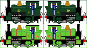 'Realistic Style' Percy The Small Engine (V2) by Princess-Muffins