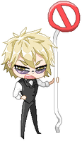 Shizuo - STOP! by cardenus