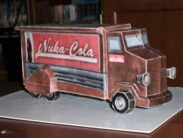 Nuka-Cola Truck from Fallout by evan3585