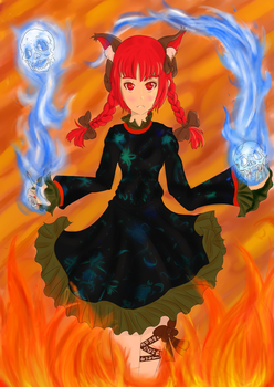 Trough the Fire and Flames by Anshel23