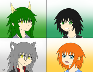 Project Aethra - Character Batch 2 by LateDaybreak